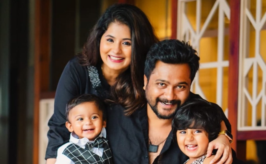 Bobby Simha And Reshmi Menon Celebrates Their Son Arjun's First Birthday