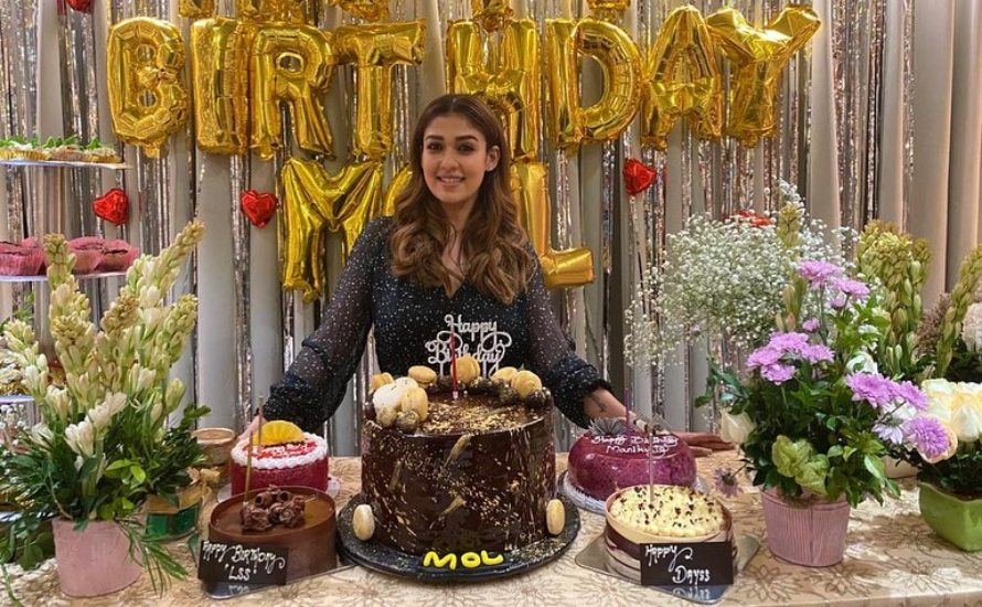 In Pics: Nayanthara's Surprise Birthday Party
