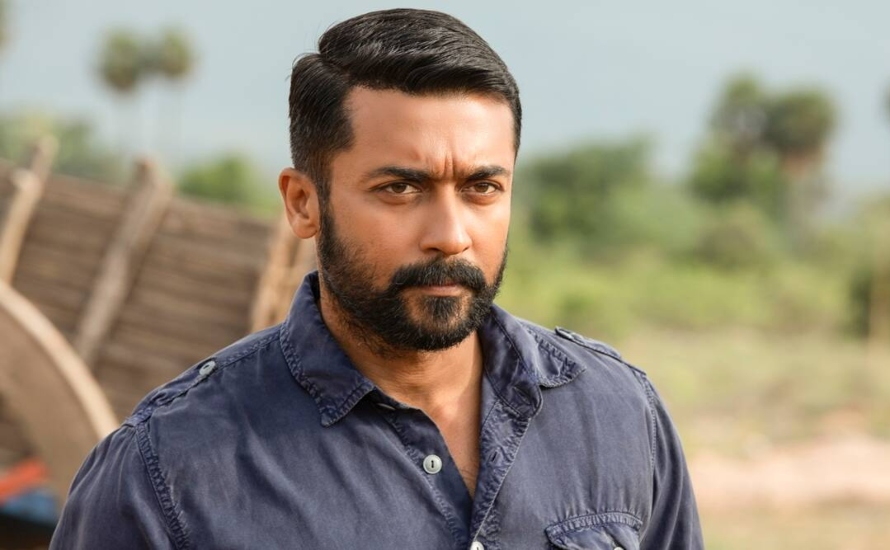 Suriya Surprises Fans By Sending Their Signatures At The Highest Altitude
