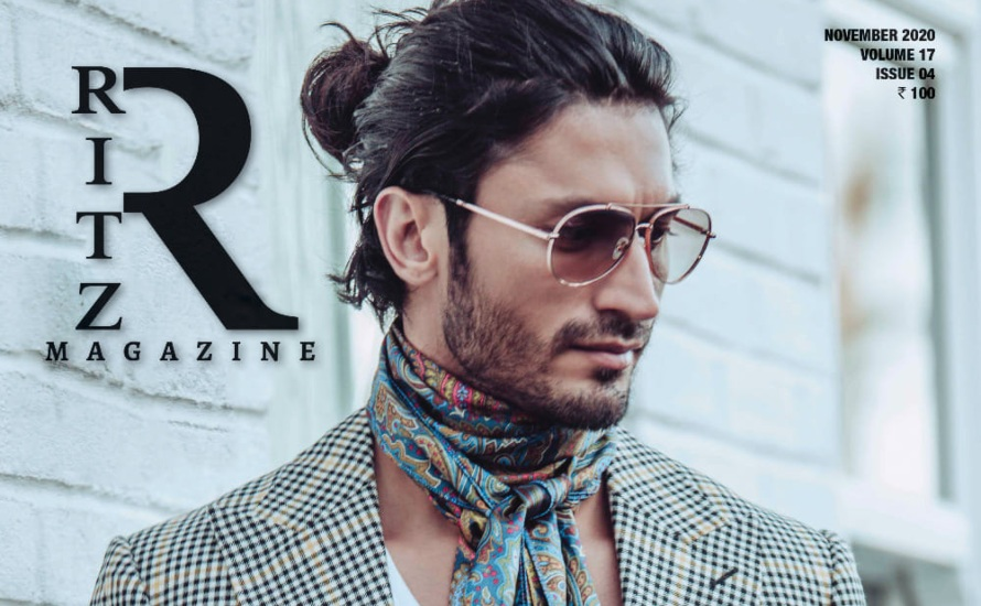 Presenting RITZ November 2020 Cover Star Vidyut Jammwal